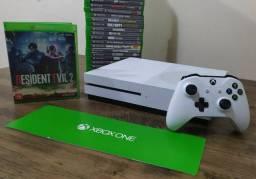 Xbox One S 4K+ 200 Jogos Troco por PS4 SLIM parcelo em até 12 X