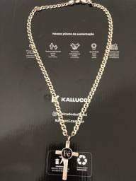 Corrente de prata com pingente muita linda só 500 reais