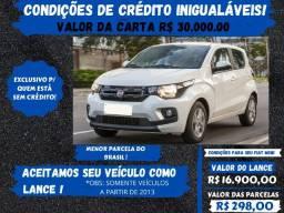 Título do anúncio: Fiat Mobi 2018 - Antes do carro vem o crédito, você já o possue? Pense nisto!