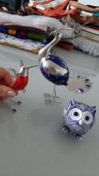 Objetos cerâmica para decoração