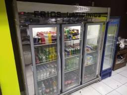 Refrigerador Polo frio 3 portas estado de NOVO