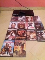 vendo filmes e o aparelho dvd tudo 60 pila