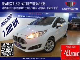 Ford New Fiesta 1.5 SE Hatch 16v Flex 4p Completo Único Dono Só 7.100 Km