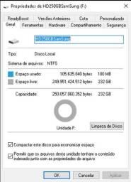 HD Externo 250GB
