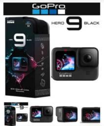 Câmera de ação GoPro Hero 9 Black original e lacrada
