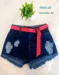 Shorts jeans na promoção campos dos goytacazes