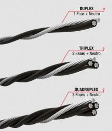 Título do anúncio: Cabos Multiplexados- Duplex, Triplex e Quadruplex