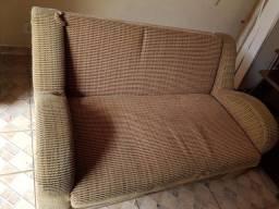 Sofa baú que vira cama