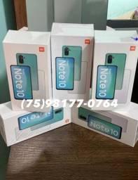 Xiaomi Note 10 64gb lacrados originais todas as cores disponíveis