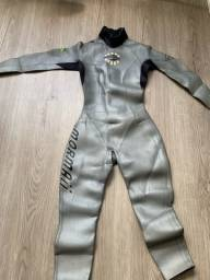 Vendo roupa de neoprene triathlon mormaii