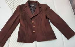 Vendo conjunto de blazer marrom