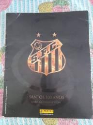 Álbum do Santos original autografado