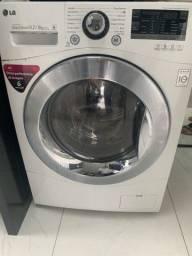 Título do anúncio: Máquina de lavar roupas Lava e Seca LG usada