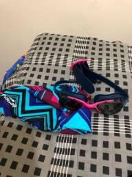Kit natação óculo e touca