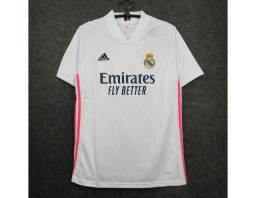 Camisa Do Real Madrid I 2021 - Branca