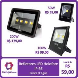 Refletor IP66 | 50, 100 e 200 W |