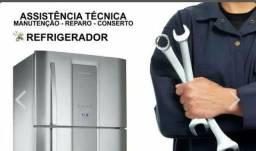 Geladeira, freezer ar condicionado manutenção geral