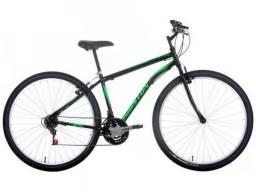 Bike bicicleta aro 29 aço carbono
