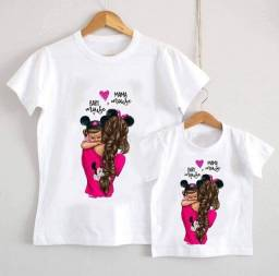 Camiseta Personalizada mãe e filha