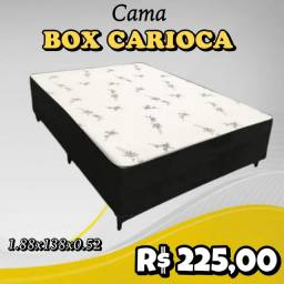 CAMA CASAL BOX CARIOCA