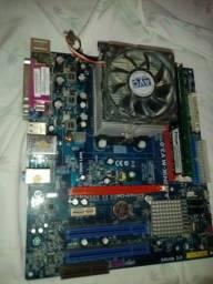Título do anúncio: Kit placa mãe AMD
