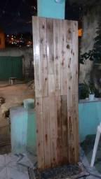 Porta de madrira rustica