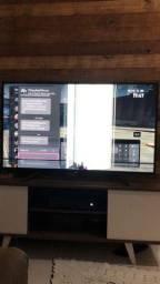 Vendo TV com uma mancha na tela