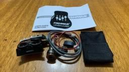 Preamp Fishman Sonitone - Kit Completo Captador + Eq + Tags Novo