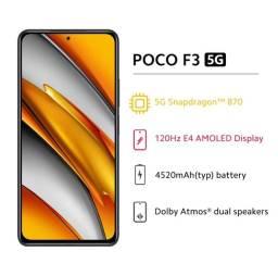 """Xiaomi Poco F3 Branco 8/256 """"Novo lacrado"""""""