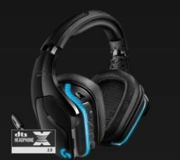 Headset Gamer Logitech G935, Sem Fio, RGB, Som Surround 7.1