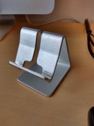 Suporte De Mesa De Aluminio Para Celular E Tablets