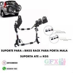 Rack p porta mala p 3 bikes