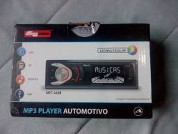 Radio Automotivo Mp3 USB Quatro Rodas