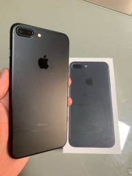 iPhone 7 PLUS Preto / Conservado