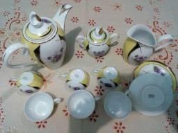 Anos 60: porcelana Schimidt jogo de café