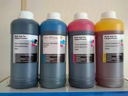 Tintas de 500ml para todos os modelos de impressora Epson HP e Canon