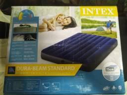 Vendo colchão inflável e barraca para 4 pessoas.