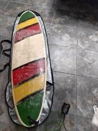 Prancha de surf 7'2 Completa!