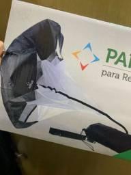 Paraquedas para resistência em Corridas