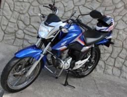 Titan 160 azul 2018