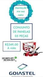 CONJUNTO DE PANELAS 05 PEÇAS