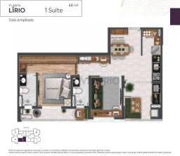 Wonder Lançamento com fácil acesso a dutra com 68m² com sala ampliada