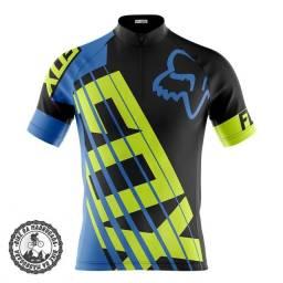 Camisa masculina ciclismo bike bicicleta dryfit manga curta