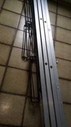 Calha de aluminio