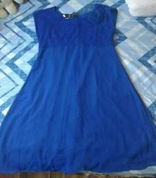 Vestido de Festa Azul Royal ( Com etiqueta)