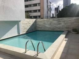 Apartamento p/ aluguel c/ 2 quartos e móveis projetados no bairro de Manaíra, João Pessoa