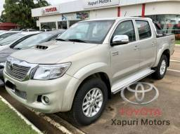 Seminovo Xapuri Motors - Hilux SRV manual - 2015