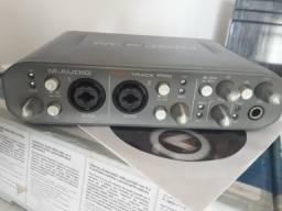 Torro placa de som interface de audio fast track pro pouca usada watts 992071222