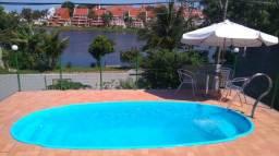 Casa com piscina Enseada Azul, proximo às Praias de Peracanga, Bacutia e Guaibura