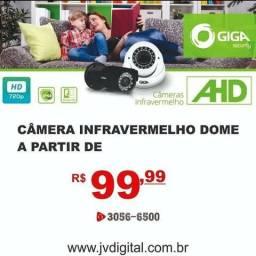 Câmera infla vermelho